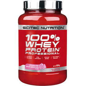 SCITEC 100% Whey Protein Professionell Polvere 920g, Strawberry white Chocolate